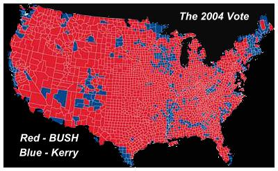 What About The Constitution Needs To Be Removed And Is Outdated - Us electoral vote map by county