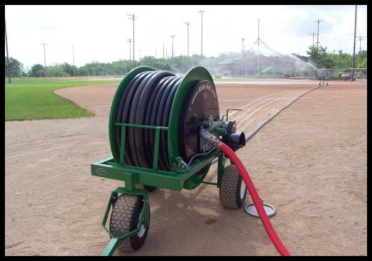 REEL IRRIGATION  sprinkler sytem.