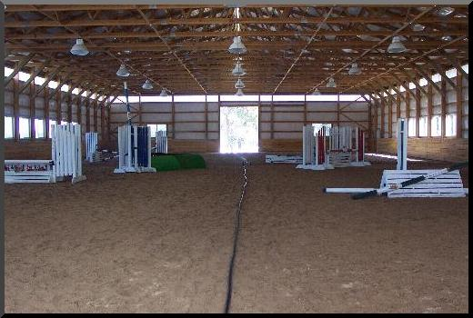 sand based horse arena dust control
