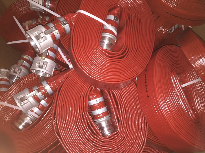 RED HIGH PRESSURE WATER HOSE