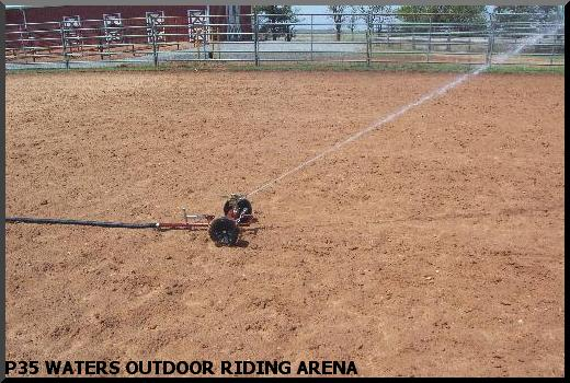 riding arena sprinklers
