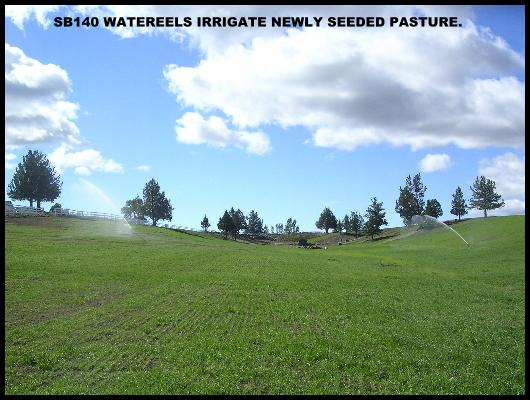 IRRIGATION FOR PASTURES
