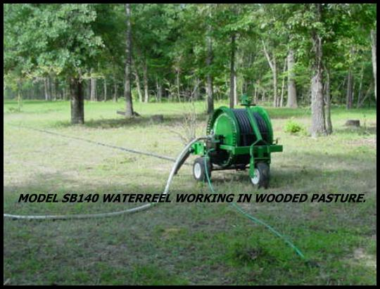 Smith waterreels can easily and efficiently irrigate any pasture.