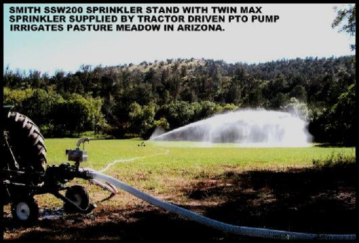Amerca's leading traveling pasture irrigation sprinklers.