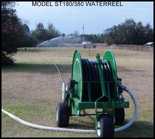 Smith Model ST180/380 waterreel traveling sprinkler sytem.