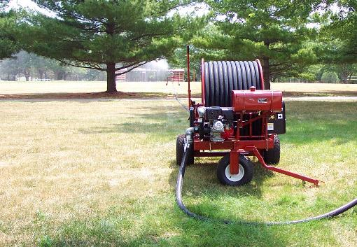 WATERREELS IRRIGATE GROUNDS OR PARKS
