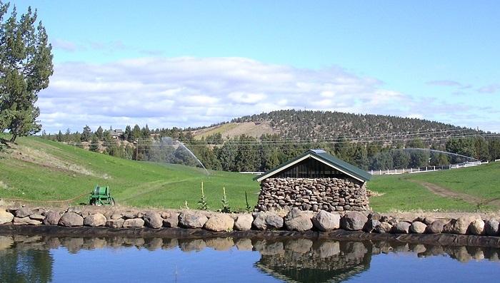 pasture irrigation sprinkler equipment