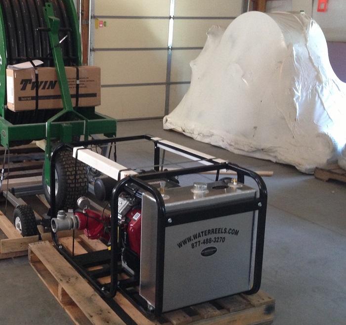 23 h.p. Vanguard powered high pressure pump package.